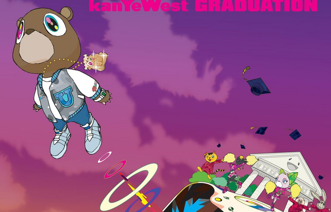 from the cover of graduation by kanye west us roc a fella records